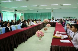 ประชุมการเตรียมงานการจัดการแข่งขันกีฬาสัมพันธ์สถาบันการ ศึกษาพยาบาลและการสาธารณสุข เครือข่ายภาคตะวันออกเฉียงเหนือ ครั้งที่ 20