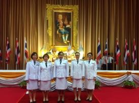 ร่วมงานพิธีถวายพานพุ่มเพื่อเป็นราชสักการะพระบิดาแห่งวิทยาศาสตร์ไทย ประจำปี 2559